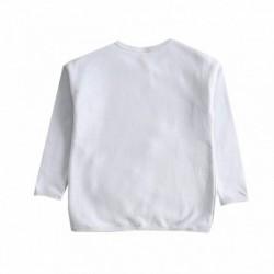 Sudadeta fleece brushed bolso algodón 100%