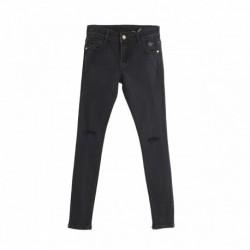 Pantalon vaquero 5b roto en rodillas algodón 95% elastano 5%