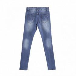 Pantalon jeggin vaquero 5b con parches algodón 95% elastano 5%
