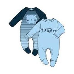 Pack 2 peleles algodón bebe-SMI-312000-Street Monkey