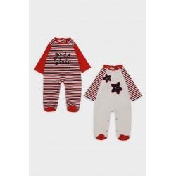 Pack 2 peleles algodón bebe-SMI-312005-Street Monkey