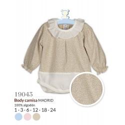 Body camisa manga larga madrid-CLI-19043-Calamaro Baby