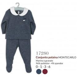 Conjunto largo jubon + polaina montecarlo-CLI-17280-Calamaro Baby
