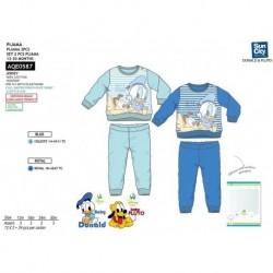Pijama largo en caja 100% algodón DONALD Bebe niño