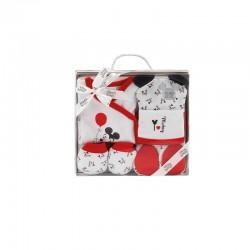 Set regalo 5 pcs bebé mod mickey y minnie-IBI-MK/MN029-Interbaby