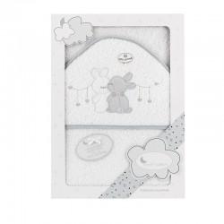Capa de baño 1 x 1 mt mod two rabbits-IBI-1217-Interbaby