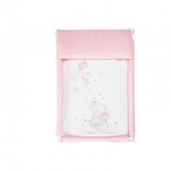 Minicuna+textil bco mod elefante-IBI-92212-Interbaby