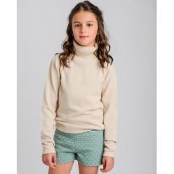 Jersey niña cuello vuelto mostaza-LOI-1015224601-1-La Ormiga