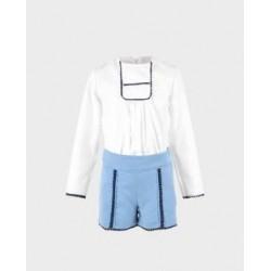 Conjunto niña blusa y short-LOI-1010310921-La Ormiga