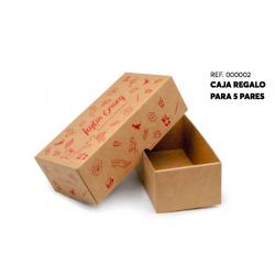 Caja regalo para 5 pares de calcetines-KLI-00000-2-Kylie