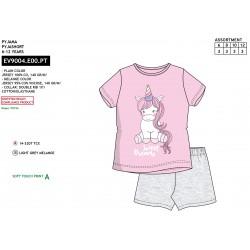"Pijama niña m/c-p/c ""Sweets""-EV9005.E00"