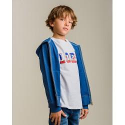 Comprar ropa de niño online Camiseta niño blanca lorg
