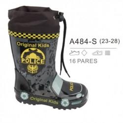Botas de agua policía, venta al por mayor