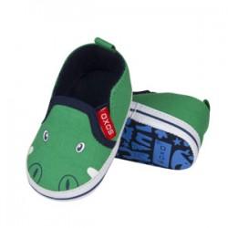 Zapatillas bebé con aplicación 100% PIEL