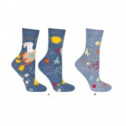 Calcetines con historietas