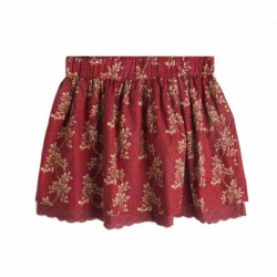 Falda roja estampada - Newness - KGI06927