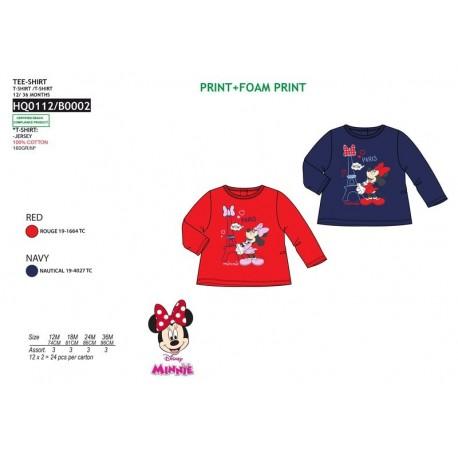 TMBB-HQ0112 proveedor ropa de niñas Camiseta ml 100% algodón