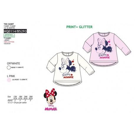 TMBB-HQ0114 proveedor ropa de niñas Camiseta ml 100% algodón