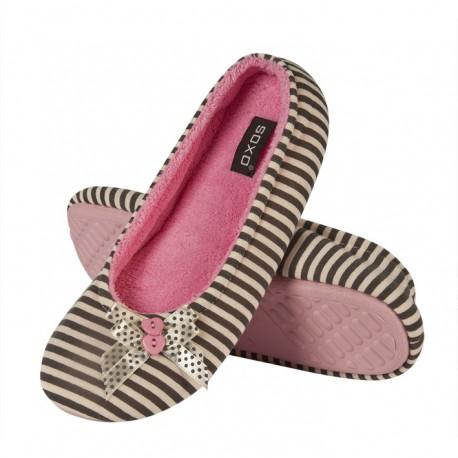 Zapatillas descanso a rayas - Soxo - SXV-83752