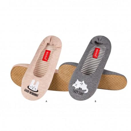 Zapatillas descanso Buenos días/día de descanso - Soxo - SXV-86494