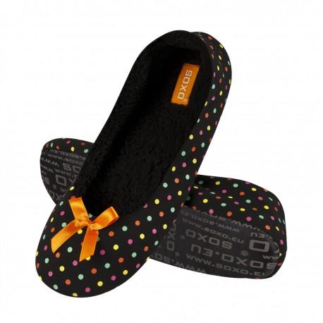 Zapatillas descanso a topitos - Soxo - SXV-84568
