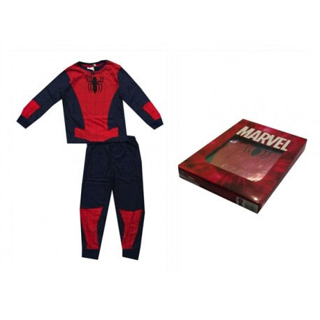 Pijama largo 100% algodón SPIDERMAN Niño