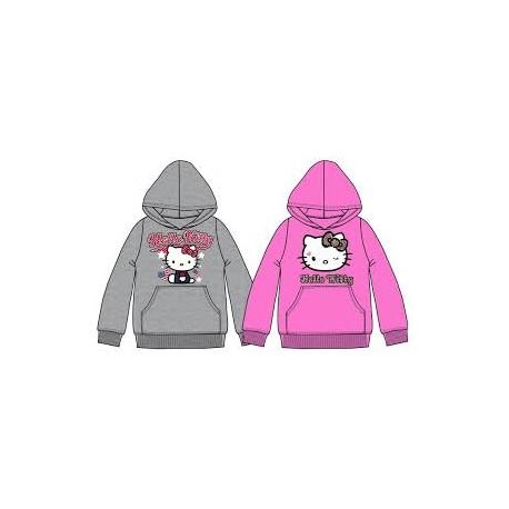 Sudadera Bolsillos canguro Hello Kitty