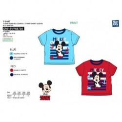 Camiseta mc 100%algodon MICKEY Niño