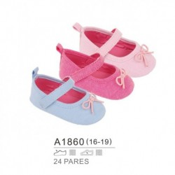 Zapatos bebe cierre velcro