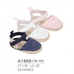 Zapatos bebe estilo alpargata