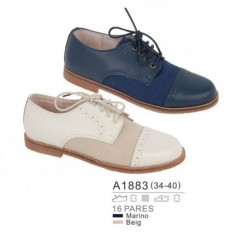 Mocasines cierre cordones - Bubble - BB-A1883