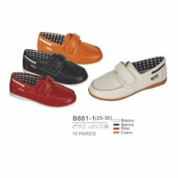 Mocasines piel - Bubble - BB-B881-1
