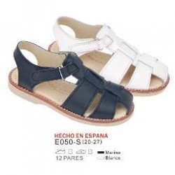 Sandalias lisas cierre velcro (made in spain) - Bubble - BB-E050-S