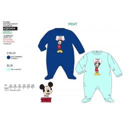Pijama tipo pelele en caja 100% algodón MICKEY Bebe niño