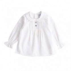 Camisa blanca m/l botones