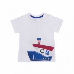 Camiseta barco lateral
