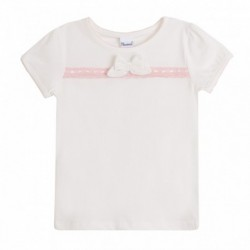 Camiseta para vestir con lazo