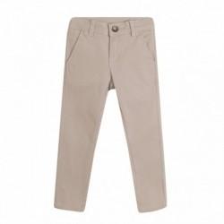 Pantalón largo vaquero color tipo chino