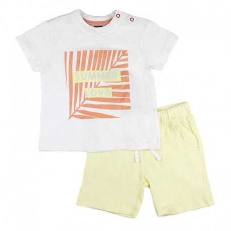 SMV-180994 Mayorista de ropa infantil Summer Love Conjunto