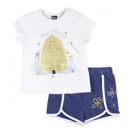 SMV-181060 Mayorista de ropa infantil Country Summer Conjunto