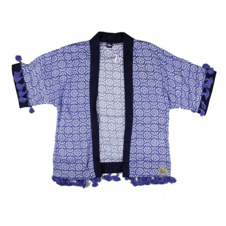 SMV-181112 Venta de ropa al por mayor Sailor Love Poncho Niña