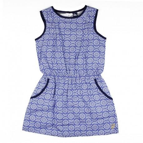 SMV-181116 Mayorista de ropa infantil Sailor Love Vestido Niña
