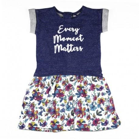 SMV-181144 Mayorista de ropa infantil Flowers Vestido Niña -