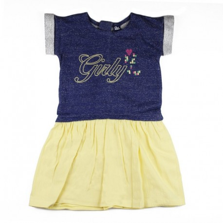 SMV-181157 Mayorista de ropa infantil Flamencos Vestido Niña -