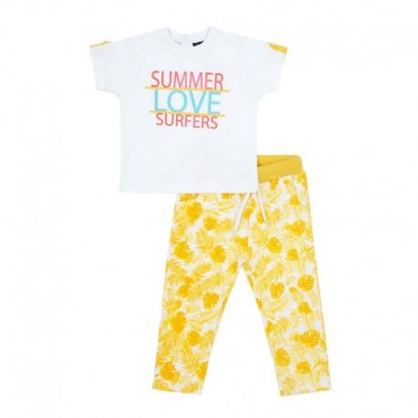 SMV-180996 Mayorista de ropa infantil Summer Love Conjunto