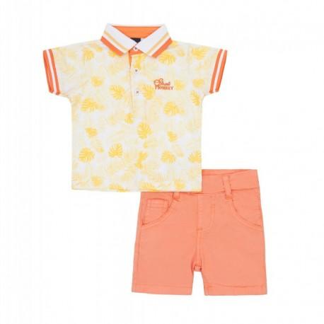 SMV-180997 Mayorista de ropa infantil Summer Love Conjunto
