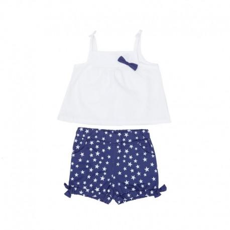 SMV-181041 Mayorista de ropa infantil Lovely Sailing Conjunto