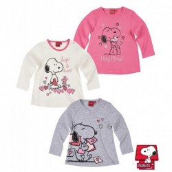 Snoopy Camiseta mangas largas