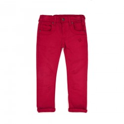 Wsp! CollectionPantalón Niño Jr Rojo Tierra