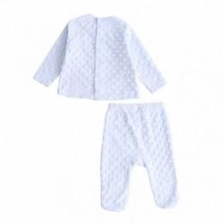 Pijama gordo de camista y bolabina de 2 pcs gatito